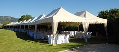 A wedding arrangement in Spain. http://www.mastertent.com/en/tents/royal/royal-27.html