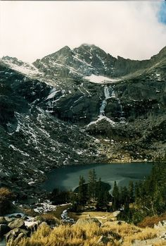 """Black Lake, Rocky Mountain National Park, Colorado Places to See Before You Die/ A Traveler's Life List"""" by Patricia Schultz) Colorado Mountains, Rocky Mountains, Colorado Lakes, Colorado Trip, Colorado Rockies, Places To Travel, Places To See, Photos Voyages, Rocky Mountain National Park"""