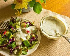 Coconut Lime Herb Salad Dressing