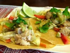 easy fish tacos #tacos #tacotuesday #fish #salsa #food #nutrition #healthy #healthyeating #healthyfood #recipe #recipes #cooking