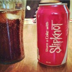 Share a coke with slipknot