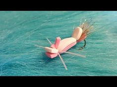 (25) Tying a Pink Lady Hopper with Martyn White (Dry fly) - YouTube