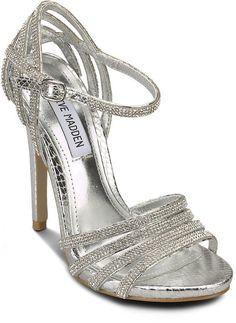Pin for Later: Cinderella wäre auf diese Schuhe ganz schön neidisch  Steve Madden Plateau-Sandalette (90 €)