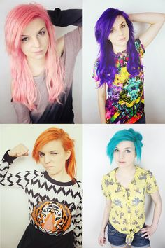 Emma Blackery's Hair I love it! She is my hairsperation, yes I just said that, but she really is!!!