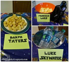Crafty And Wanderfull Life: Kraft Macaroni & Cheese Star Wars Party Macaroni Cheese, Star Wars Party, Shapes, Crafty, Breakfast, Life, Food, Morning Coffee, Meals