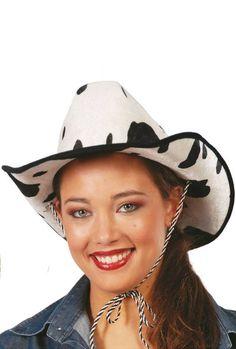 chapeau de cow boy vachette