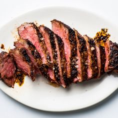 This rub works on just about any cut (in fact, it's served on filet mignon at Mesa Grill), and the pan-to-oven method is foolproof.