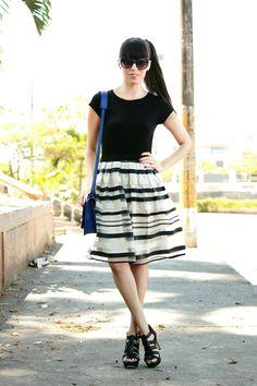#ladylike #streetstyle #fashionblogger #midi