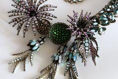 KONPLOTT Halskette Collier ALIEN ANEMONE blue/green   eBay