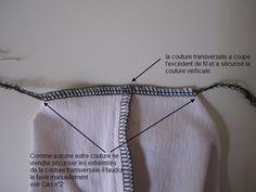 Surjeteuse : arrêter une couture - Couture Stuff