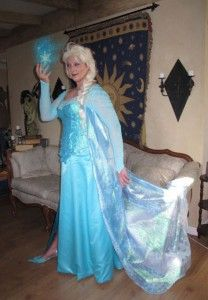 222 best costume diy frozen elsa images on pinterest frozen elsa the snow queen costume tutorial solutioingenieria Choice Image