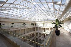 Top floor #boscolobudapest #boscolohotel #topfloor #glassroof