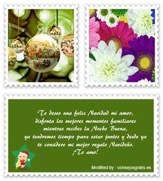 mensajes de texto para enviar en Navidad,palabras para enviar en Navidad : http://www.consejosgratis.es/mensajes-de-navidad/