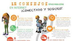 Alumnos - 12 Consejos de Seguridad en Internet | Infografía
