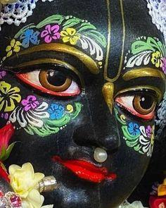 "Krishna art by Sita on Instagram: ""A little case off favoritism! Always Remember Krishna - and Never Forget Krishna Love, your friend Sita www.rememberkrishna.com"" Krishna Love, Krishna Art, Deities, Forget, Instagram"