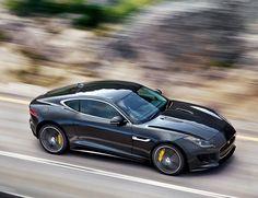 Jaguar F-Type R Coupe. O MY GOD, that's a beautiful car!! #jaguar #Ftype #Coupe