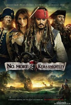 Movie Poster Parody pirates of the carribean