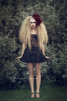 Amanda Diaz Photography That hair is amazing, and gorgeous black and white hair… Hair Photography, Fashion Photography, Photography Contests, Photography Backdrops, Mode Baroque, Amanda Diaz, Curly Hair Styles, Natural Hair Styles, Crimped Hair