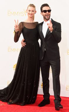 Os casais do Emmy Awards 2014
