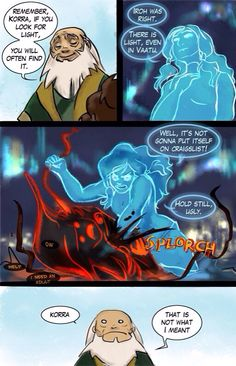 The Legend of Korra/Avatar the Last Airbender: finding the light in the dark