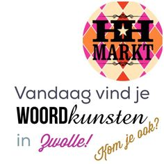 Zo vaak zijn we niet in het noorden dus kom! Op het kerkplein in Zwolle! #woordkunsten #hipenhandgemaaktmarkt #zwolle