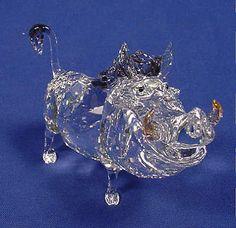 Swarovski Crystal Figurines | Swarovski Crystal Disney's Pumbaa Figurine 1049784 NIB | eBay