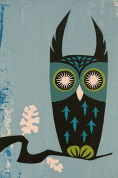 Susan Crawford, Plankton Art Co Bird Tree, Owl Bird, Illustrations, Illustration Art, Owl Wallpaper, Funny Owls, Whimsical Owl, Owl Tattoo Design, Owl Tattoos