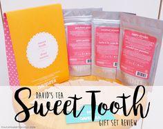 David's Tea Sweet Tooth Gift Set - Review | Teacups & Travels Davids Tea, Apple Strudel, Teacups, Lifestyle Blog, Sweet Tooth, About Me Blog, Gifts, Travel, Presents