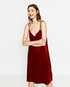 Image 2 of VELVET DRESS from Zara