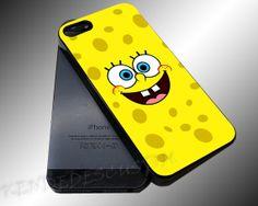 Spongebob Face  iPhone 4/4s/5c/5s/5 Case  by KENDEDESCUSTOM, $14.80