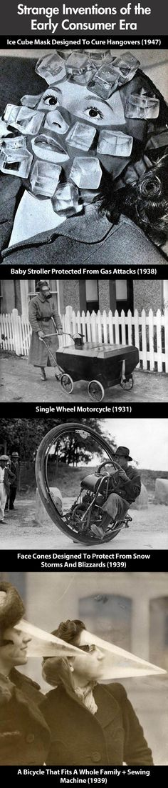 Some of these inventions from the days of yore are quite clever.