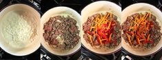 Pantrucas, receta chilena – Mi Diario de Cocina Tapas, Ratatouille, Beef, Ethnic Recipes, Soups, Food, Sausage Meals, Ground Meat, Plate
