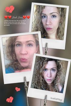 no makeup makeup, neutral makeup, 3D-Lashes Younique, lengthen lashes, natural curly hair