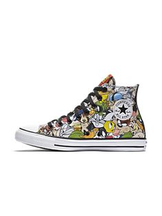 Converse Chuck Taylor All Star Looney Tunes High Top Unisex Shoe. Nike.com  Converse 2a5d9ab2d