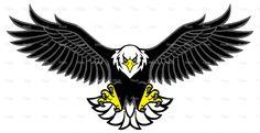Blue falcon tattoo furthermore eagle wings design eagle mascot spread the wings… Eagle Wing Tattoos, Small Eagle Tattoo, Eagle Chest Tattoo, Eagle Skull, Eagle Art, Eagle Mascot, Eagle Logo, Free Vector Graphics, Free Vector Art