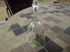 Vintage Avon Bell Lead Crystal May Lily of by PopnBensCollectibles