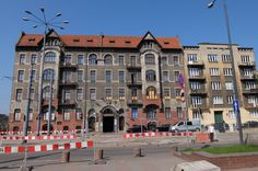 Tenement block-Art Nouveau in Lodz Piotrowska Str.arch.R.Miller