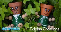 Dolphin Creations - Handmade by Laura: Tutorial vasi per piante alternativi!