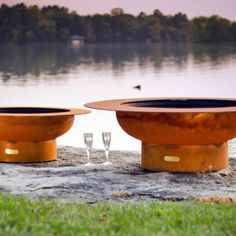 Magnum Gas Fire Pit | WoodlandDirect.com: Outdoor Fireplaces: Fire Pits - Gas, Fire Pit Art