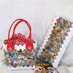 Candy wrapper bags  waldisneyworld borse di carta by mariella di miceli unique accessori