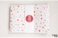 Floral Envelope Set by bvbblegvm Small One, First Girl, Envelope, Make It Yourself, Spring, Illustration, Floral, How To Make, Envelopes