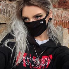 Aesthetic Grunge, Aesthetic Girl, Kpop Face Mask, Face Masks, Estilo Grunge, Mask Girl, Mask Online, Masks For Sale, Mouth Mask