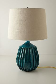Anthropologie Carambola Lamp Ensemble, $348. WAY out of my price range, but great inspiration. Very pretty.
