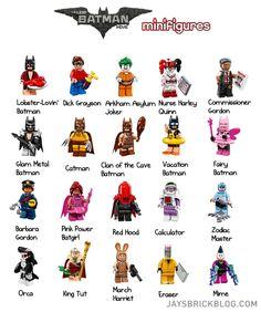Genuine LEGO Minifigures les vacances Batman De Batman Series 1