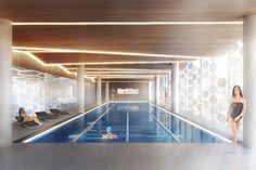 World Class Fitness Club | HAAST Architectural Bureau | Pool Design