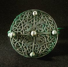 Here's another beautiful Viking brooch from the 9th century. #VikingHoard coverage, check out our #Storify: https://storify.com/welovehistory/vikinghoard #archaeology #historicenvironmentscotland #history #Scotland #historicscotland #vikings