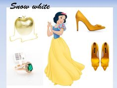 Disnex princess Snow white fashion
