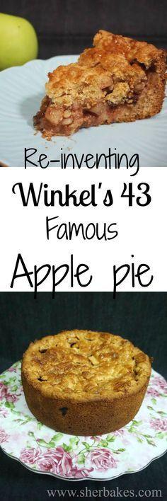 winkel's 43 famous dutch apple pie #applepie