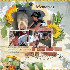 Breakfast is everything! The beginning, the first thing. It is the mouthful that is the commitment to a new day! – A.A. Gill . In Cracked Egg, a digital scrapbook collection by Snickerdoodle Designs by Karen, you will find everything you need to scrap your favorite breakfast or brunch. Find inspiration with the layout created with Cracked Egg!