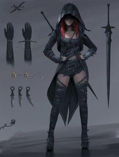 [Fantasy] - [digitalart/paintings/fantasy] - Burning Rose Design 2 - by: wlop